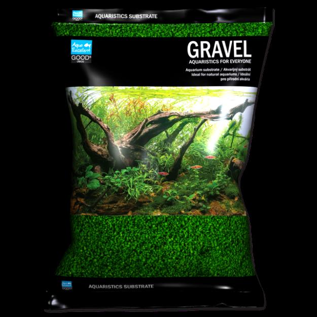 Písek AQUA EXCELLENT 1,6-2,2 mm zelený 3kg