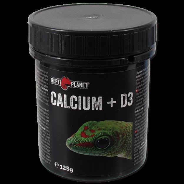 REPTI PLANET krmivo doplnkové Calcium + D3 125g